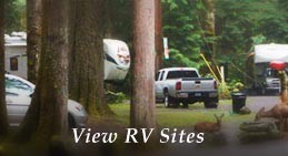 Mounthaven Resort's Mt. Rainier Lodging includes RV Sites