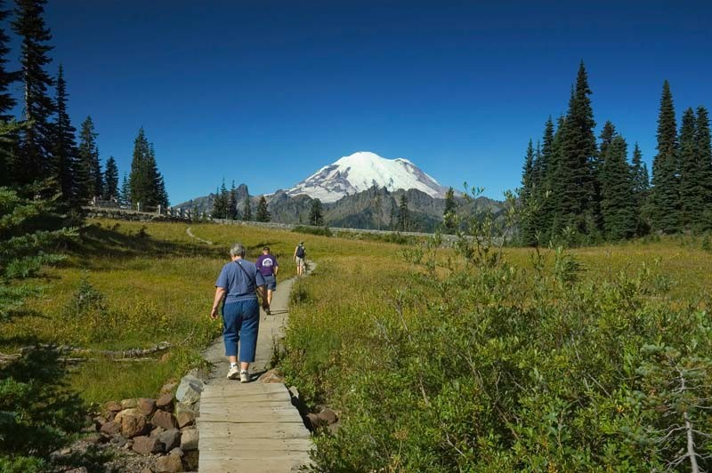 Mount Rainier National park Free Days 2015